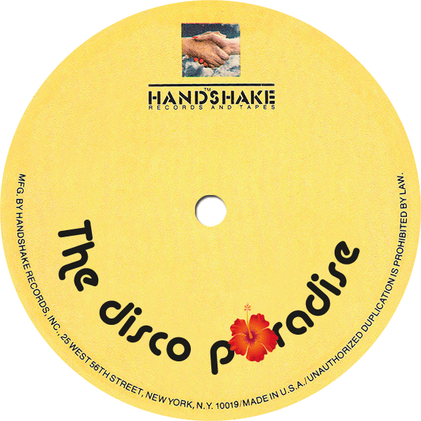 handshake record label - the disco paradise