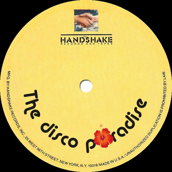 handshake record label - the disco paradise